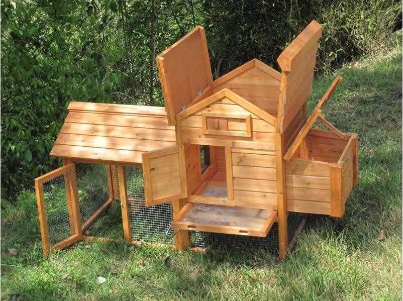 Un poulaille en bois design