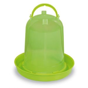 abreuvoir-plastique-volaille-eco-avec-poignee-vert-lime-3-litres-gaun
