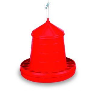 mangeoire-poule-tremie-plastique-volaille-rouge-4-kg-gaun
