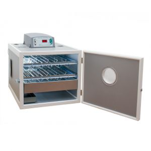 Couveuse automatique digitale poule MG 70/100 Family Mini LED 70 œufs - FIEM