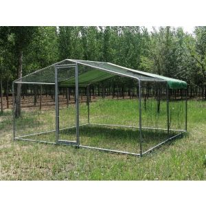 grand-enclos-poulailler-parc-grillage-renforce-tube-38mm-3x3x2-25m