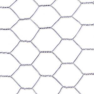 Grillage-poule-galvanisé-triple-torsion-5m-x-50cm-Galvanex-de-Nortene-détail-de-la-maille