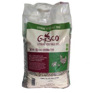Litière-Végétale-poule-Émietté-de-Paille-BIO-pack-16Kg---Gasco