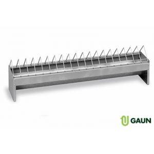 Mangeoire-Volailles-Galva-100-Cm-Grande-Capacité