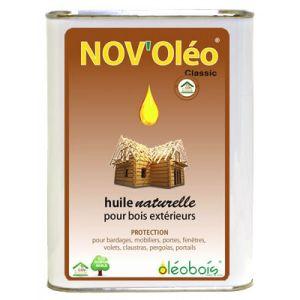 Huile de lin pour bois bidon 2L Nov'Oleo