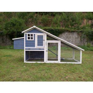Poulailler-enclos-Orloff-bleu-xl-6-à-8-poules