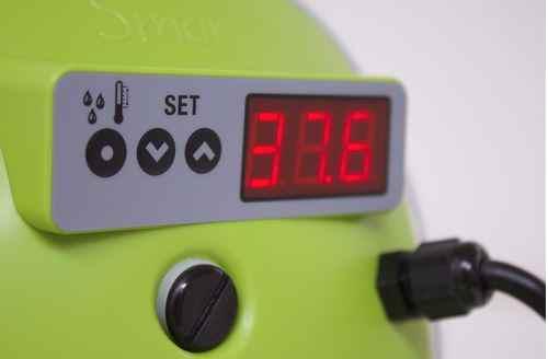 Quelle température pour couveuse automatique à oeufs