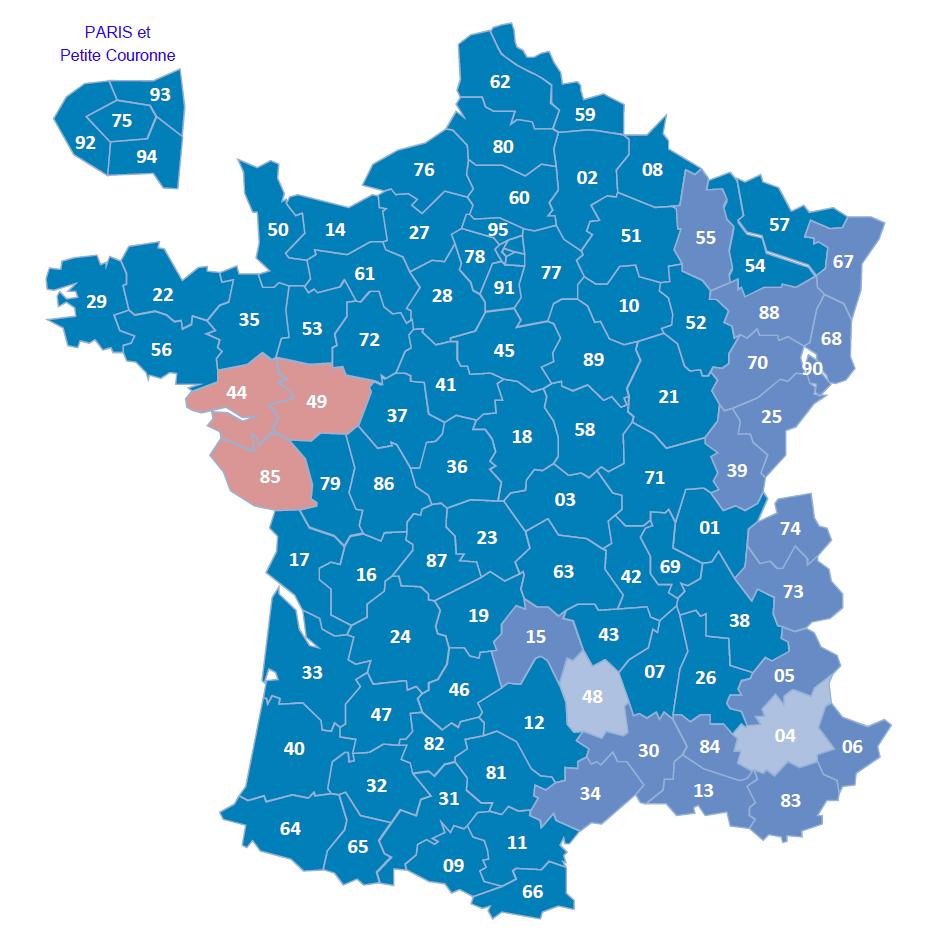 Carte de livraison France Express